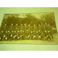 Antigua Foto Postal Militaría Armeria Excelente Estado
