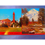 El Arcon Tarjeta Postal Foto Junin De Los Andes Volcan Lanin