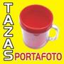 Taza Plastica Portafoto-souvenires-publicidad