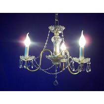 Araña 3 Luces Divina Para Tu Casa / Negocio . Vs Colores