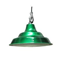 Lámpara Colgante Campana Colores Metalizados - Oferta!!!