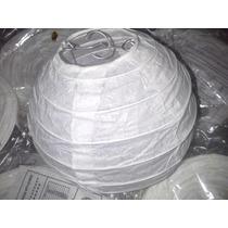 Lampara Pantalla Globo Papel De Arroz Esfera 13 Cm