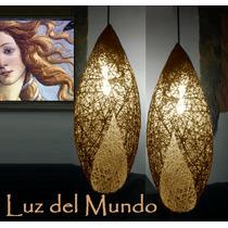 Lámparas De Hilo Capullo 55 Cms X 20 Cms (se Venden X Par)