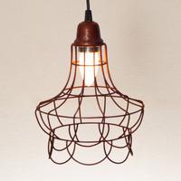 Iluminacion Artefactos En Alambre Vintage Lampara Colgante