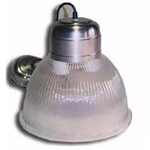 Lampara Campana Colgante Policarbonato 30cm 1 Luz