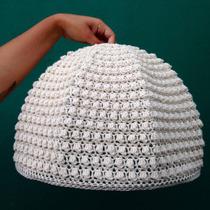Pantalla Tejida Al Crochet