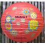 Pantalla Globo Oriental China 40cm Diam De Papel Estampado