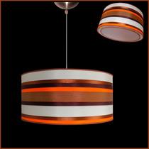 Lámpara Colgante Pantalla Varias Combinaciones De Colores