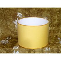 Pantalla Para Lámpara De Pie En Tela 35 X 35 Cm X 30cm Alt.