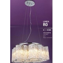 Lámpara Colgante De 8 Luces Ro