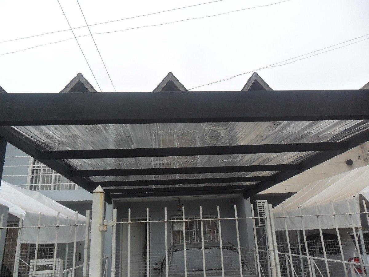 Techos para garage o cochera car interior design for Techos metalicos para cocheras