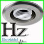 Spot Embutir Rosca E27 Plateado Ideal Bajo Consumo Durloc Hz