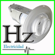 Spot Embutir Rosca E27 Lampara Bajo Consumo Ideal Durlock Hz