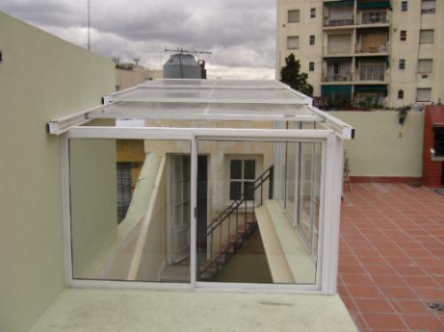 Techos cerramientos policarbonato aberturas aluminio - Vidrio de policarbonato ...