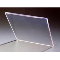 Policarbonato Compacto 2mm Placa De 1,22x2,44 Mts Cristal