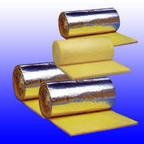 Lana De Vidrio 50m Aluminio 21.6m2 Importador Ideal Techos!