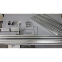 Kit Completo Canaleta Americana 4 Metros X 3 De Bajada