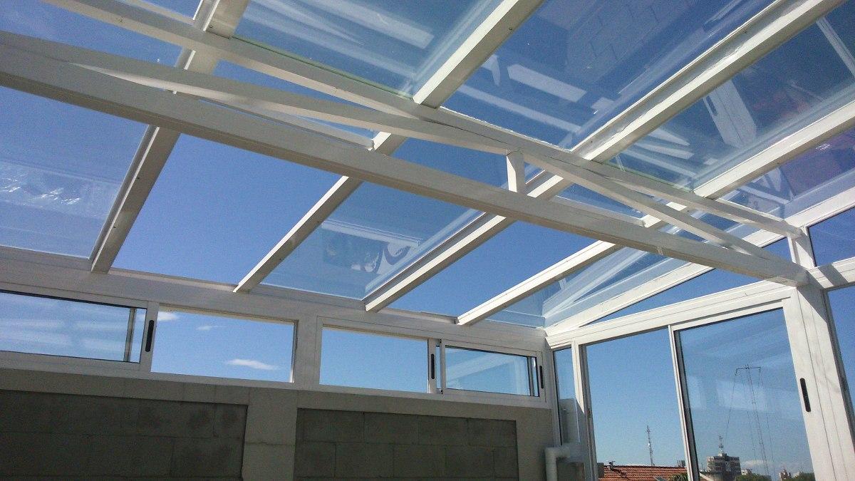 Pin cerramientos techos corredizos toldos on pinterest - Vidrio de policarbonato ...