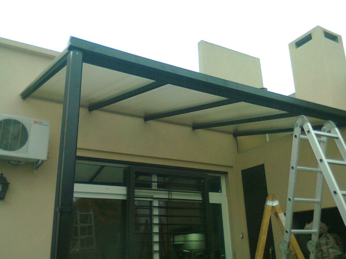 Techos de policarbonato garages cocheras cerramientos - Vidrio de policarbonato ...