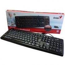 Teclado Genius Kb-06xe Usb Español Keyboard Usb En Caja