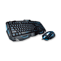 Teclado Mouse Gamer Noga Game Retroiluminado Usb
