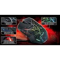 Mouse Gamer Genius X-g300 2000dpi Luz 7 Colores 6 Botones