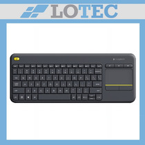 Teclado Logitech K400 Plus Inalambrico Pc Smart Tv Touch Pad
