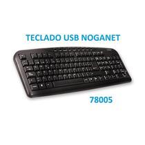 Teclado Noganet Usb Mod.78005 Merlo Bs As
