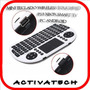 Mini Teclado Wireless Touch Ps3 Pc Android Smart Tv Varela