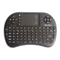 Teclado Inalambrico Touchpad Smart Tv Android Tablet Kolke