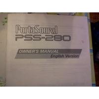 Yamaha Pss-280 Manual Del Usuario