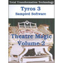 Set Organos Theatre Magic 2 Para Tyros 2-3-4 Formato Tvn-uvn