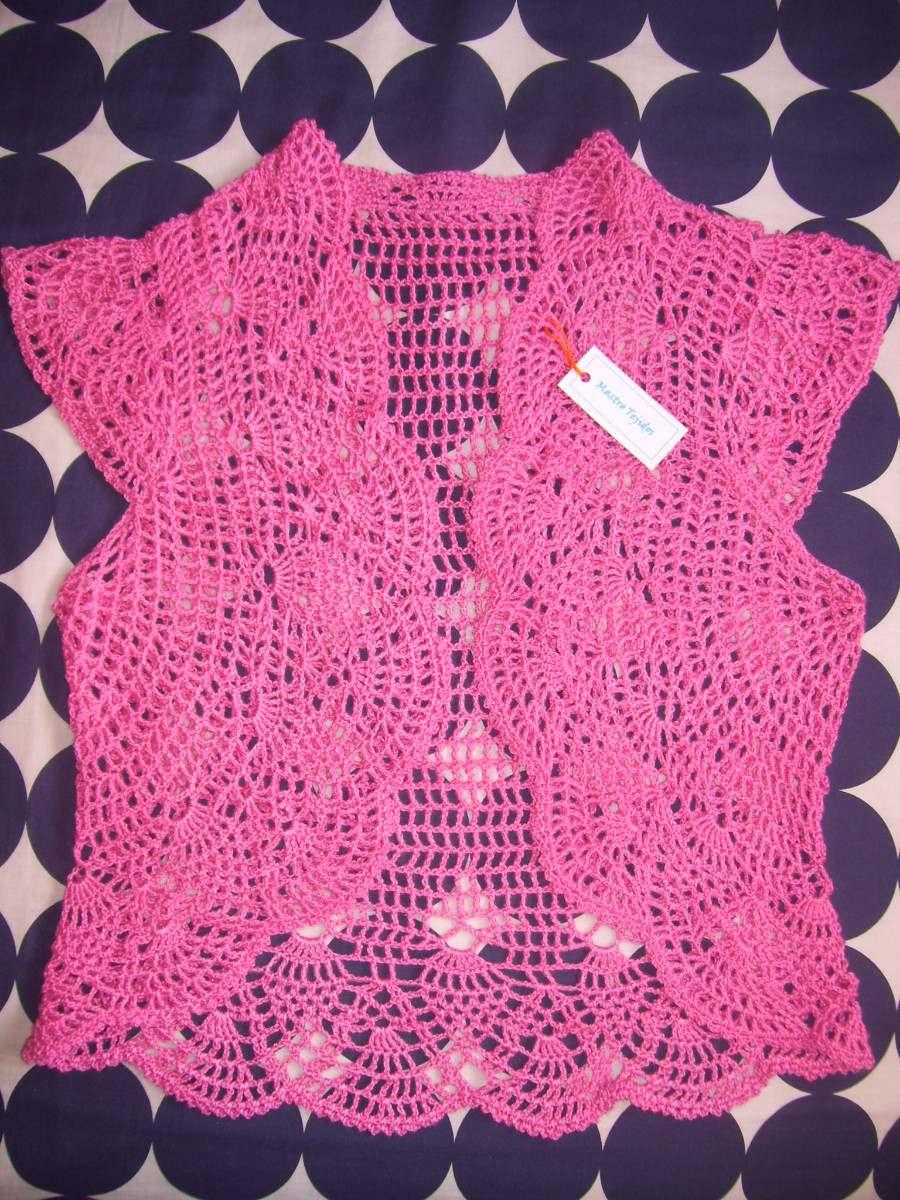 Tejidos Artesanales A Crochet: Chalecos - Boleros - $ 400,00 en ...
