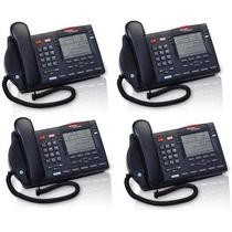 Lote De 4 Teléfonos Nortel Meridian M3904 - Negro -dde $1