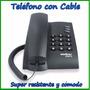 Teléfono Con Cable, De Mesa Fijo Intelbras Pleno Oferta