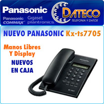 Telefono Panasonic Kx-ts7705 Manos Libres Display Caller Id