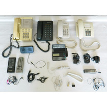 Lote Teléfonos Cargadores Agenda Digital Cables Controles