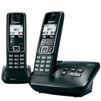 Teléfono Inalámbrico Siemens Gigaset A420a Duo Contestador