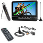 Pantalla Lcd 9 Powerpack - Monitor Seguridad Usb Tv Av In