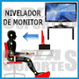 Tarima Pedestal Elevador Monitor Tv Base 35x25 Alto 10 Cms.