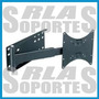 Soportes Pared Led Lcd Tv 32, 40, 47 Brazo Lateral Puerta