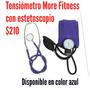 Tensiometro Aneroide + Estetoscopio More Fitness