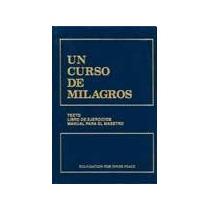 Un Curso De Milagros - Tapa Dura - Libro Nuevo!