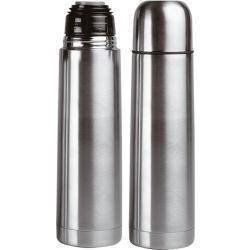 Termos de acero inoxidable en color aluminio x 1 litro - Precios de termos de gas ...
