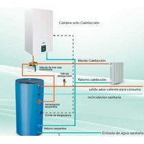Calefacción Y Agua Sanitaria Solar, Caldera De Condensacion