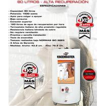 Termotanque Electrico 80 Litros Resistencia Italiana