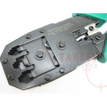 Pinza Crimpeadora P/cables Rj45 Rj11 Rj9 Utp Y Telefonica