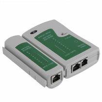 Tester Probador De Cable Lan / Red Data Rj45 Telefonia Rj11