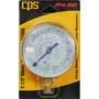 Manómetro De Baja R22 R12 R134a 120psi Refrigeración