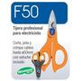 Tijera Profesional Para Electricistas Con Crimpadora Ht F50